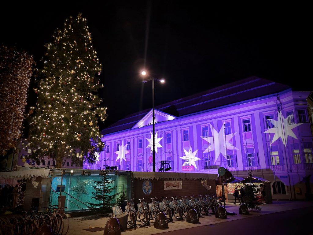 Weihnachtsbeleuchtun